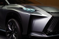 Evil Looking Car Lexus LF-NX